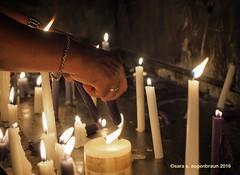 Regla Town, Havana, Cuba (augenbrauns) Tags: cuba havana flames candles placeofworship church