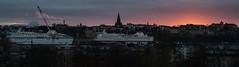 Stockholm Sunset (Walter Quirtmair) Tags: ifttt 500px stockholm sweden sunset panorama sun light dusk evening quirtmair cityscape ship