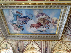 Interior of Semperoper / Opera house of Dresden (Sokleine) Tags: semperoper operahouse opéra interior fresque fresco décorarchitectural indoor décoration heritage historic dresden dresde saxe sachsen saxony deutschland germany allemagne ceiling plafond painting