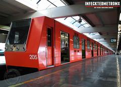 CNCF-Alsthom NM-79 Indios Verdes L-3 (infecktedmetromx) Tags: nm79 cncf concarril l3 alsthom alsthomcimt cddemexico stc subway stcmetro df cimt metro metrodelaciudaddemexico mexico