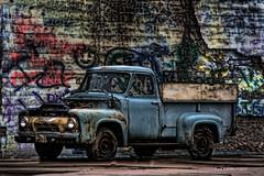 Street Art!   .... HTT! (jackalope22) Tags: htt truck graffiti street art colors textures thursday