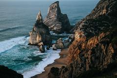 Praia da Ursa, Sintra (diogoliveiraferreira) Tags: seascape landscape ocean viewpoint sea blue beach nature sintra portugal praia ursa paradise secret