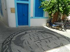dolphins (Bichoes) Tags: nisyros dodekanse aegean mandraki spiliani monastery knights castle greece