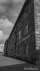 Clarence_RWY_signed (Jason Bradshaw Photography) Tags: canon canonphotography nikon nikonphotography blackandwhite plymouth photography photos capture clouds contrast canon400d buildings digitalphotography devon adobelightroom adobephotoshop adobe landscapephotography harbour