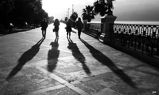 La passeggiata sul lungomare (Reggio Calabria)