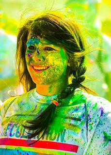Holi, la fête des couleurs 🎉