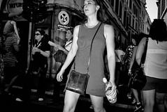 Stay cool. (Baz 120) Tags: candid candidstreet candidportrait city candidface candidphotography contrast street streetphoto streetcandid streetphotography streetphotograph streetportrait rome roma romepeople romestreets romecandid europe women monochrome monotone mono blackandwhite bw noiretblanc urban voigtlandercolorskopar21mmf40 life leicam8 leica primelens portrait people unposed italy italia girl grittystreetphotography flashstreetphotography faces flash decisivemoment strangers