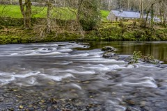 Cascades (GarethBell) Tags: wales betws betwsycoed conwy north northwales uk outdoors outside canon 6d canon6d hdr 35mm water flowing wet river rocks rapids cascades bank reflection longexposure white