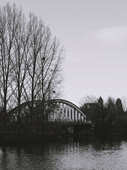 S o r n a y (Photeliart) Tags: sonydsch1 sonycybershot camera capture shot picture nature campaign bridge river trees water clouds sky sornay byme demoi