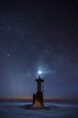 Night stories (alexander.alechits) Tags: ©alexanderalechits canoneos5dmarkiii canonef1635mmf28liiusm sakhalin lighthouse light winter night stars milkyway сахалин ночь зима звезды маяк свет