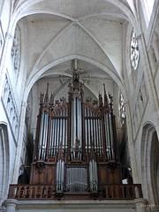 Grand orgue Cavaillé-Coll...Cathédrale Notre-Dame-de-l'Assomption, Luçon (pierete ..(*_^)..) Tags: vendée luçon cathédrale orgues