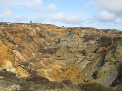 9144 Mynydd Parys - Parys Mountain copper mine (Andy - Busyyyyyyyyy) Tags: 20170401 mynyddparys parysmountain copper mine ccc mmm opencast ooo