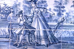 Azulejo (richardr) Tags: azulejo tiles tiling ceramic portuguese blue kensingtonandchelsea kensingtonchelsea kensington london victoriaandalbertmuseum victoriaalbertmuseum va baroque england britain greatbritain uk unitedkingdom europe european history heritage historic old
