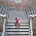 Escadarias de acesso ao piso superior