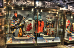 Marios Display (Bill Maksim Photography) Tags: winter etched food toronto ontario tower classic ice cup hockey glass roy cn gold penguins hall goal goalie downtown tour adams fame gear mario location ceiling arena kings richard stanley winner hours rocket bruins olympic kane hull messier leafs canadians flyers orr canadiens address presidents hold esposito jagr malkin crosby hasek howe gretzky yzerman bossy forsberg overtime maksim ovechkin reigning lundqvist hhof sakic datsyuk connsmythe