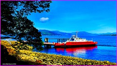 Scotland Gourock the car ferry Sound of Soay 18 June 2014 by Anne MacKay (Anne MacKay images of interest & wonder) Tags: car june by ferry anne scotland picture sound western mackay 18 ferries gourock soay 2014