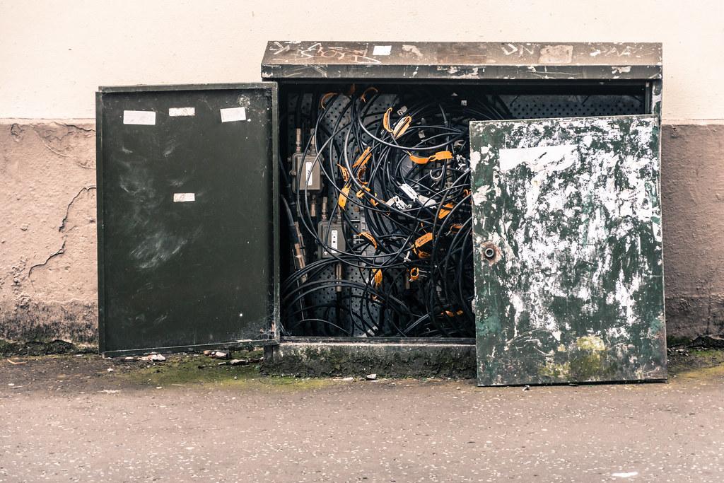 URBAN DECAY - CLAREMONT STREET IN BELFAST