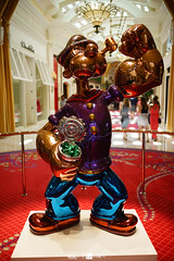 Popeye Statue At Wynn Las Vegas Hotel by 不染俗塵 瓢飲清閒, on Flickr