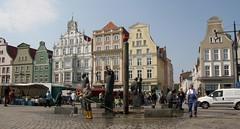 Rostock, Möwenbrunnen, Neuer Markt (julia_HalleFotoFan) Tags: fountain germany brunnen balticsea ostsee rostock mecklenburg neuermarkt mecklenburgvorpommern hansestadtrostock möwenbrunnen