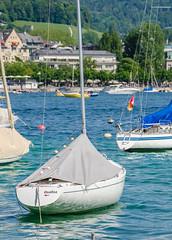 Boat in Lake (SG.NikonD7000) Tags: lake water iso100 nikon swiss zurich bluewater zürich 70300mm tamron vc 70300 d7k d7000 iamnikon nd7k