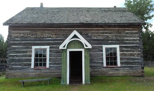 Fort Selkirk school