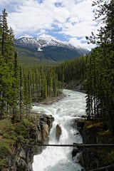 Sunwapta Falls (Chris@Issy) Tags: voyage travel vacation canada mountains river landscape rockies vacances rocky rivire falls alberta parkway paysage chute rocheuses montagnes athabasca icefield sunwapta chrisissy atempsperdu