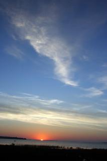 Sunset, Oliphant Beach, Lake Huron_9536