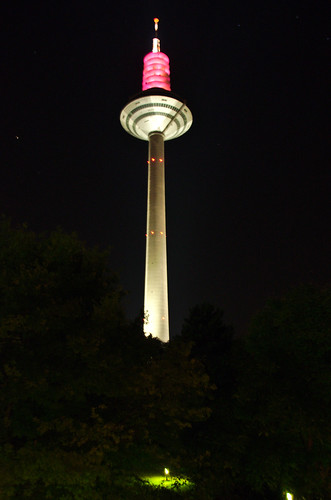 Europaturm at Night