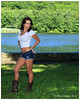 Christina Lee Modeling (Peter Camyre) Tags: pictures park trees ladies summer portrait lake sexy water girl beautiful beauty look grass fashion lady female canon pose photography photo pond model friend cowboy photoshoot state legs image boots modeling outdoor connecticut background christina scenic picture parks posing ct tshirt places scene images peter vogue lee portraiture western denim 5d summertime shorts usm cowgirl brunette f28 poses dukes ansonia mkiii daidy gilrs camyre glamoe osborndale ef2470ii