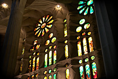 Sagrada Familia (Cosimo era sull'elce) Tags: barcelona travel windows church architecture spain nikon colours symbol god basilica magic modernism famlia fantasy sagrada barcellona spagna gaud magia cristians tempio catalogna d3100