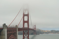 Golden Gate Bridge (Simiram) Tags: california travel bridge summer usa fog america golden gate san francisco