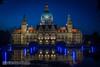 100 Jahre Neues Rathaus Hannover (carsten.nacke) Tags: hannover rathaus carsten nachtaufnahme langzeitbelichtung niedersachsen rathaushannover langzeitaufnahme nacke carstennacke cnphotosde