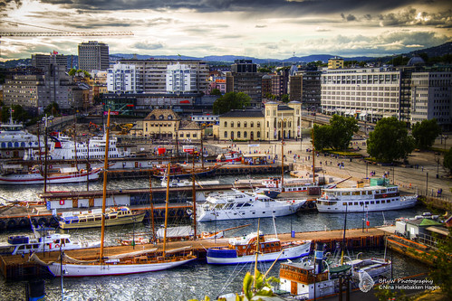 Oslo waterfront (HDR)