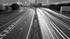 M8 One (doug_rm58) Tags: park light cars monochrome night long exposure traffic motorway glasgow trail m8 streaks kinning