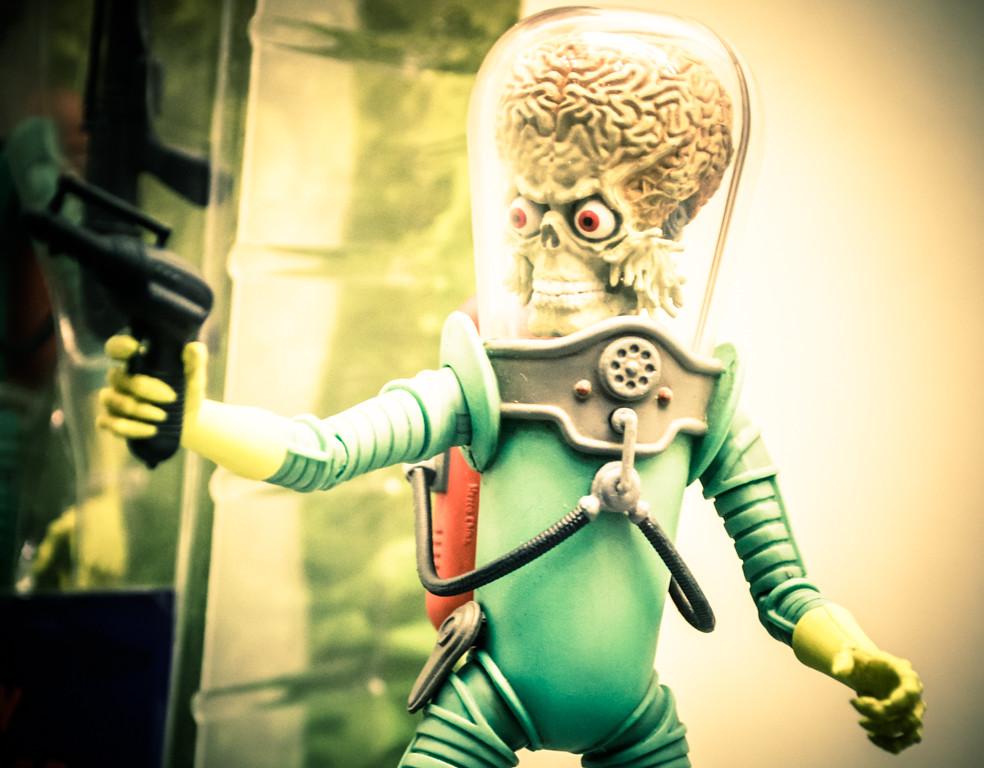 Mars Attack-acks by claudiaheidelberger, on Flickr