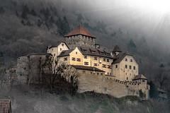 Schloss Vaduz in Liechtenstein (Bernd Thaller) Tags: castle backlight nikon rays liechtenstein schloss gegenlicht d800 schlsser vaduz