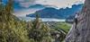 """Arrampicare al Bel... Vedere - Climber Massimo Righi - Falesia del Belvedere - Nago - ph Giampaolo Calzà """"Trota"""" (Giam paolo Calzà) Tags: alice andrea belvedere alessandro arrampicata nicolò massimorighi"""