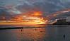 """Zenyatta Mondatta"" (jcc55883) Tags: ocean sunset sky silhouette clouds hawaii nikon waikiki oahu pacificocean walls waikikibeach yabbadabbadoo d40 kalakauaavenue kuhiobeachpark nikond40"