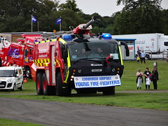 Edinburgh Airport FRS - Rosenbauer Panther (AJM4584) Tags: rescue 6x6 fire scotland major airport edinburgh engine foam service panther tender appliance 2014 truckfest rosenbauer