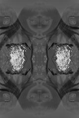 La Pythonisse (dangerous pinocchio) Tags: white black fire doll witch lol surreal symmetry future kawaii scifi feu prudence prout symtrie sorcire pouet dawnbury