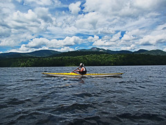 Snowy Moutain On The Banks Of Indian Lake, N.Y. (todonn9364) Tags: kayaking indianlakeny snowymt