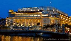 the Fullerton Hotel @ Singapore (sidavid.halim) Tags: hotel singapore riverside pictureoftheday share galaxysamsung tagsforlikes samsungs4 kamerahpgw