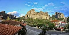 Meteora /  (NinjaAndi) Tags: canon greece monastery griechenland kloster meteora makedonien mittelmeer mediteraneansea kastraki kalabaka thessalia eos6d