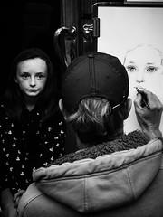 Irish Eyes (Feldore) Tags: street ireland portrait irish eye art girl sketch eyes artist drawing young olympus draw ghostly mchugh sligo fleadh 2014 em1 1240mm irishlooking plale feldore