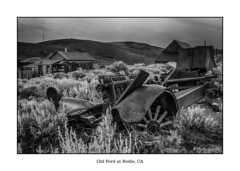 Old Ford Mining Truck at Bodie (Andy Spliethof) Tags: horse wheel wagon spoke ghosttown bodie miningtown bodieca
