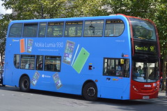 "Metroline (TE665) LK55 KJV with ""Nokia Lumia 930"" wrap"