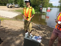 MVCA water sampling for MOE at Bonnechere[5]
