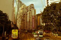Split (hksleeper) Tags: road street canon hongkong asia tram oldschool 6d hongkongstyle sigma3514art