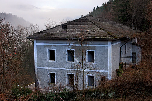 House in abandonment