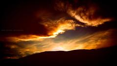 Sky Tones (yusuf_alioglu) Tags: red sky orange cloud sun sunlight mountain black art colors yellow clouds sunrise turkey landscape lumix photography photo photographer trkiye dream panasonic bulutlar photoart anatolia bulut gkyz da planetearth gne mydream anadolu tokat gndoumu eudokia darkmountain planetworld gne komana tohat skytones panasonicdmcls80 yusufaliolu yusufalioglu unbornart yusufaliogluphotography sobaru kahcun darnnusret